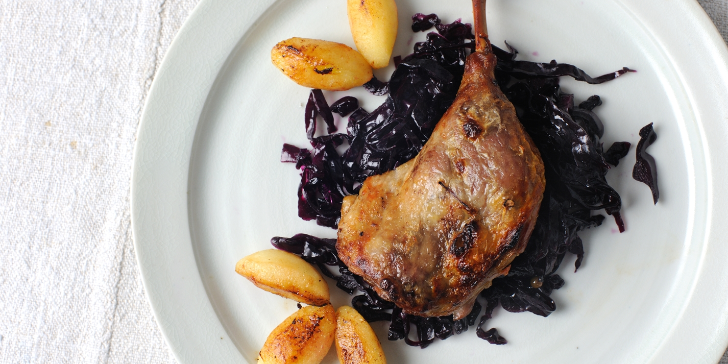 How to braise duck legs
