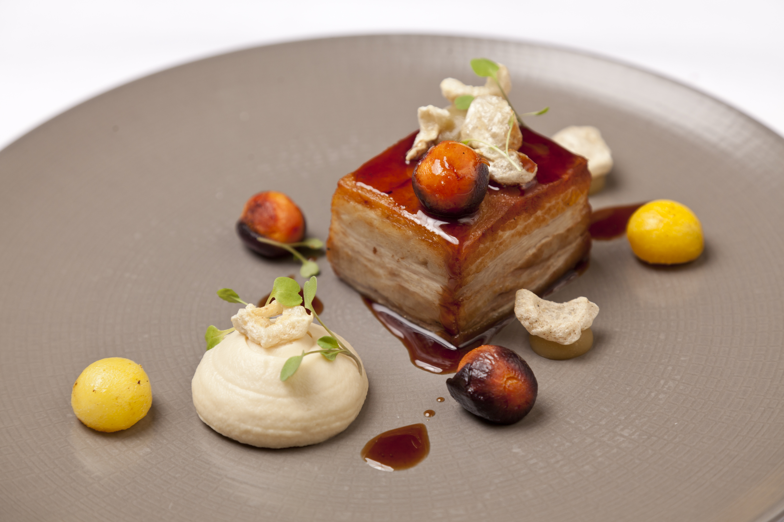 Cured Sous Vide Pork Belly Recipe Great British Chefs