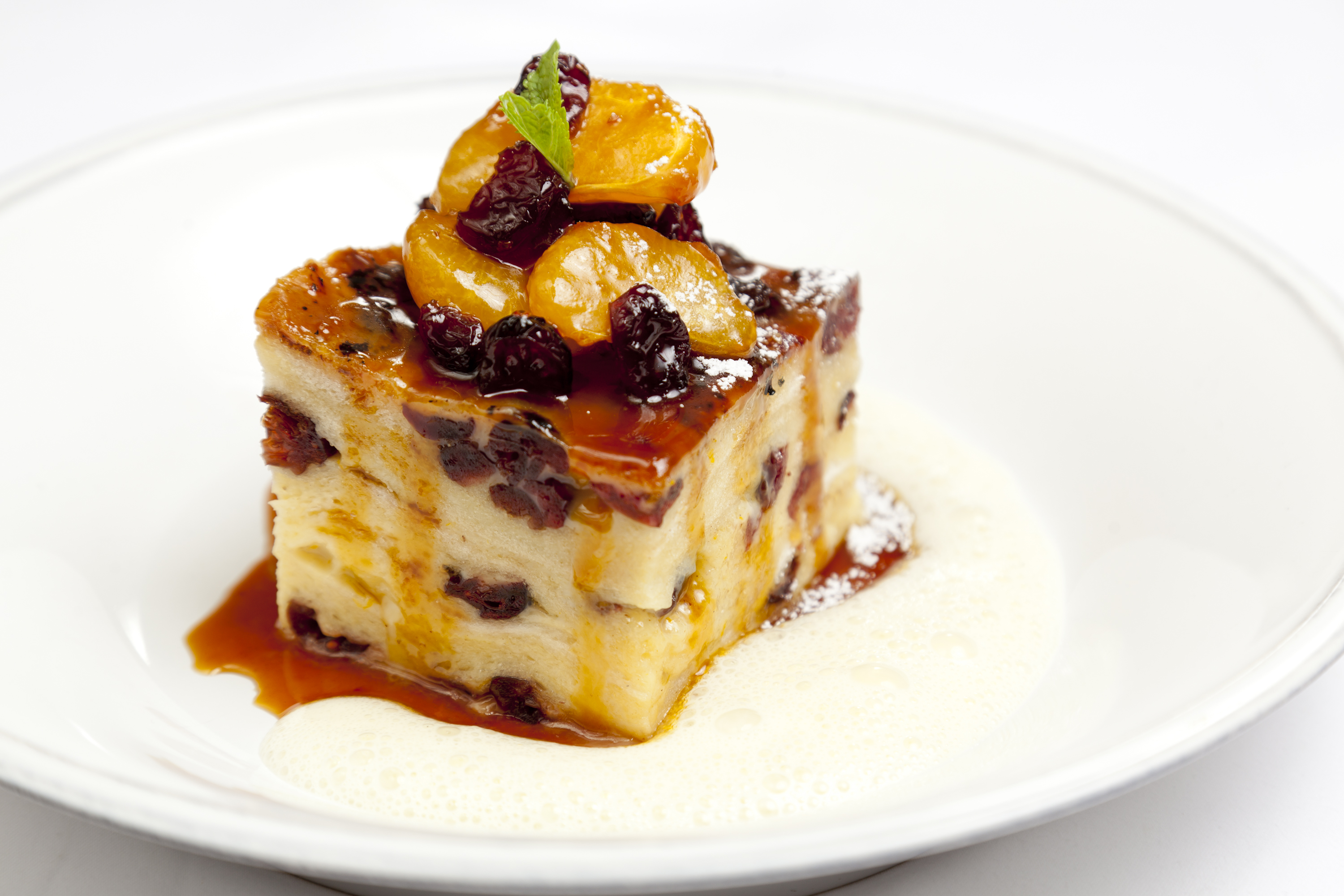 Dark Chocolate and Marmalade Bread and Butter Pudding - Great ...