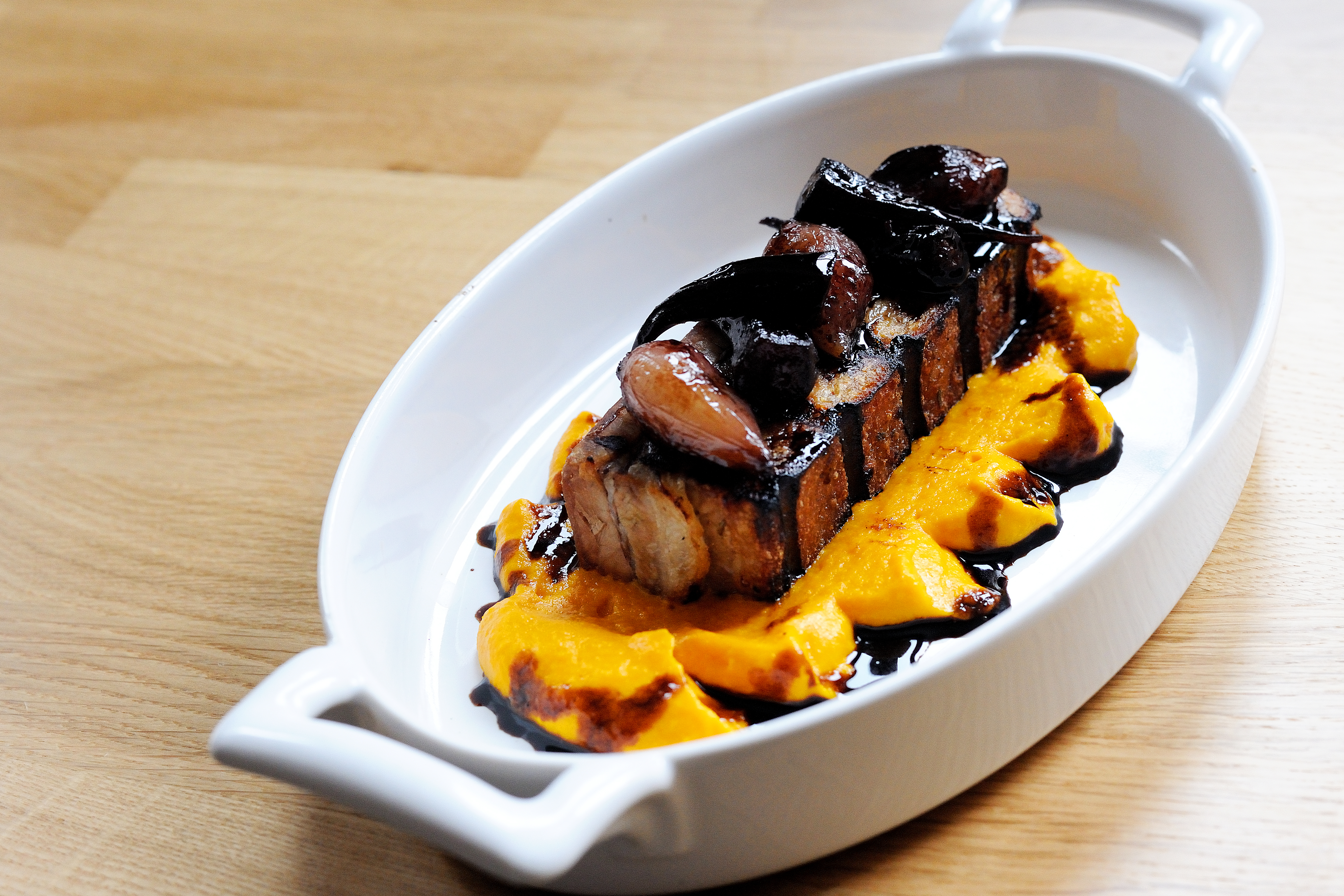 Glazed pork belly recipe great british chefs forumfinder Image collections