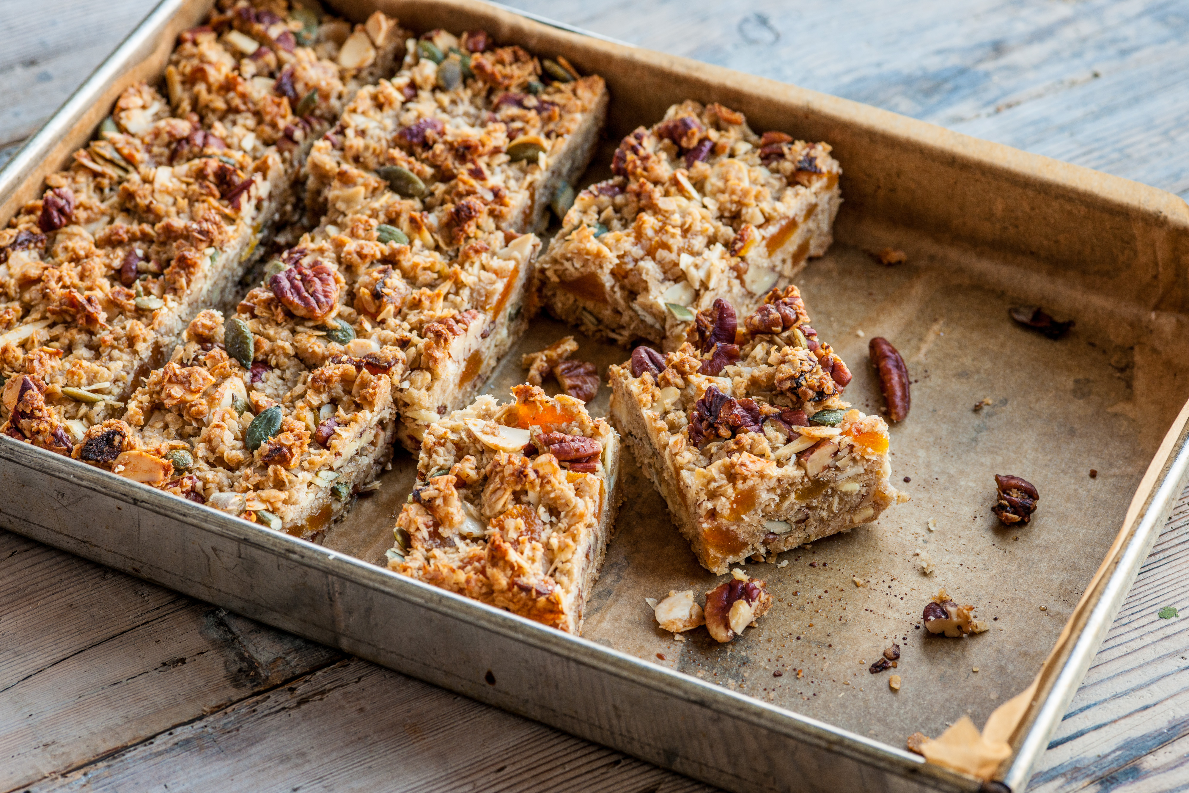 Cereal bars recipe great british chefs ccuart Choice Image