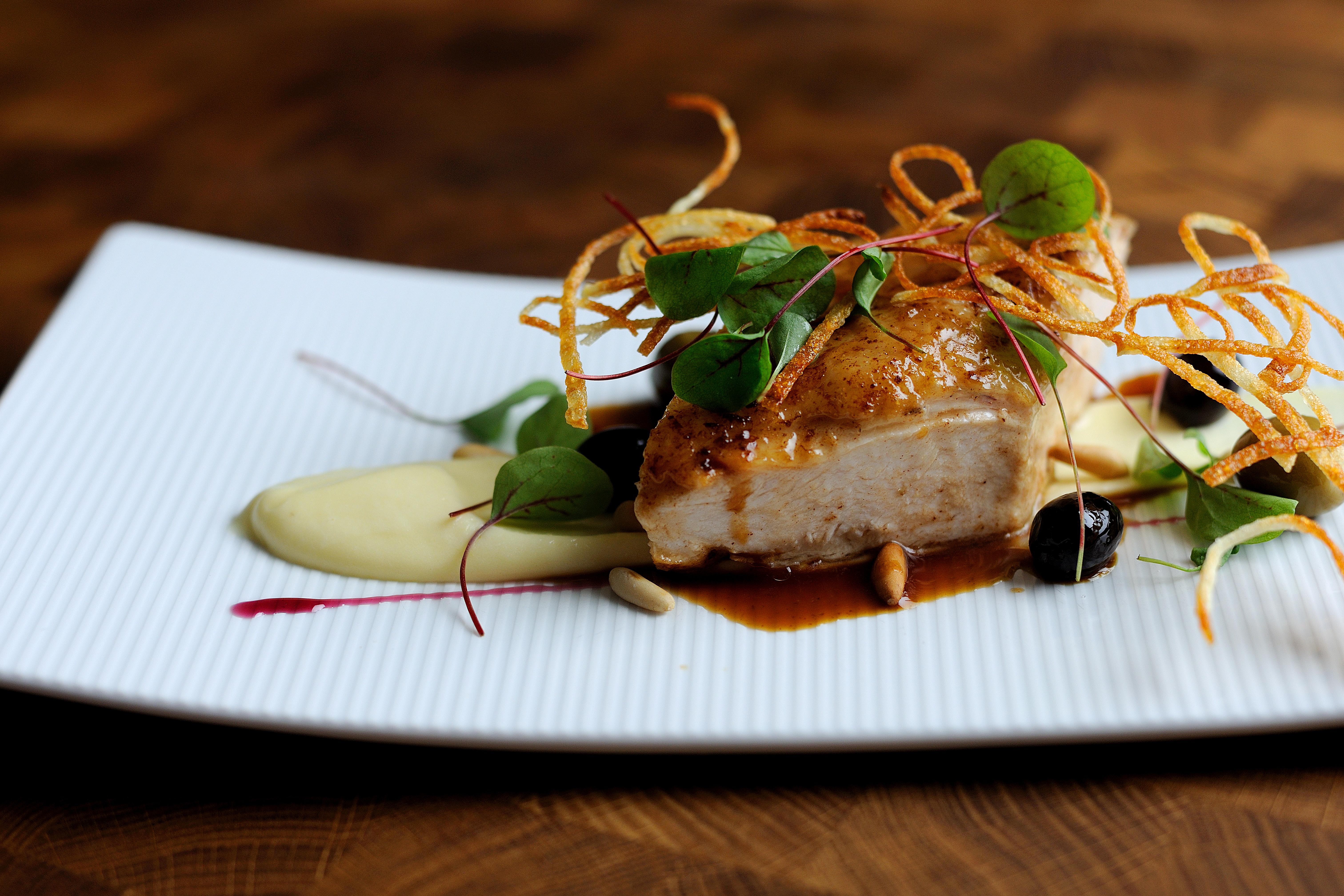 roast chicken breast recipe - great british chefs