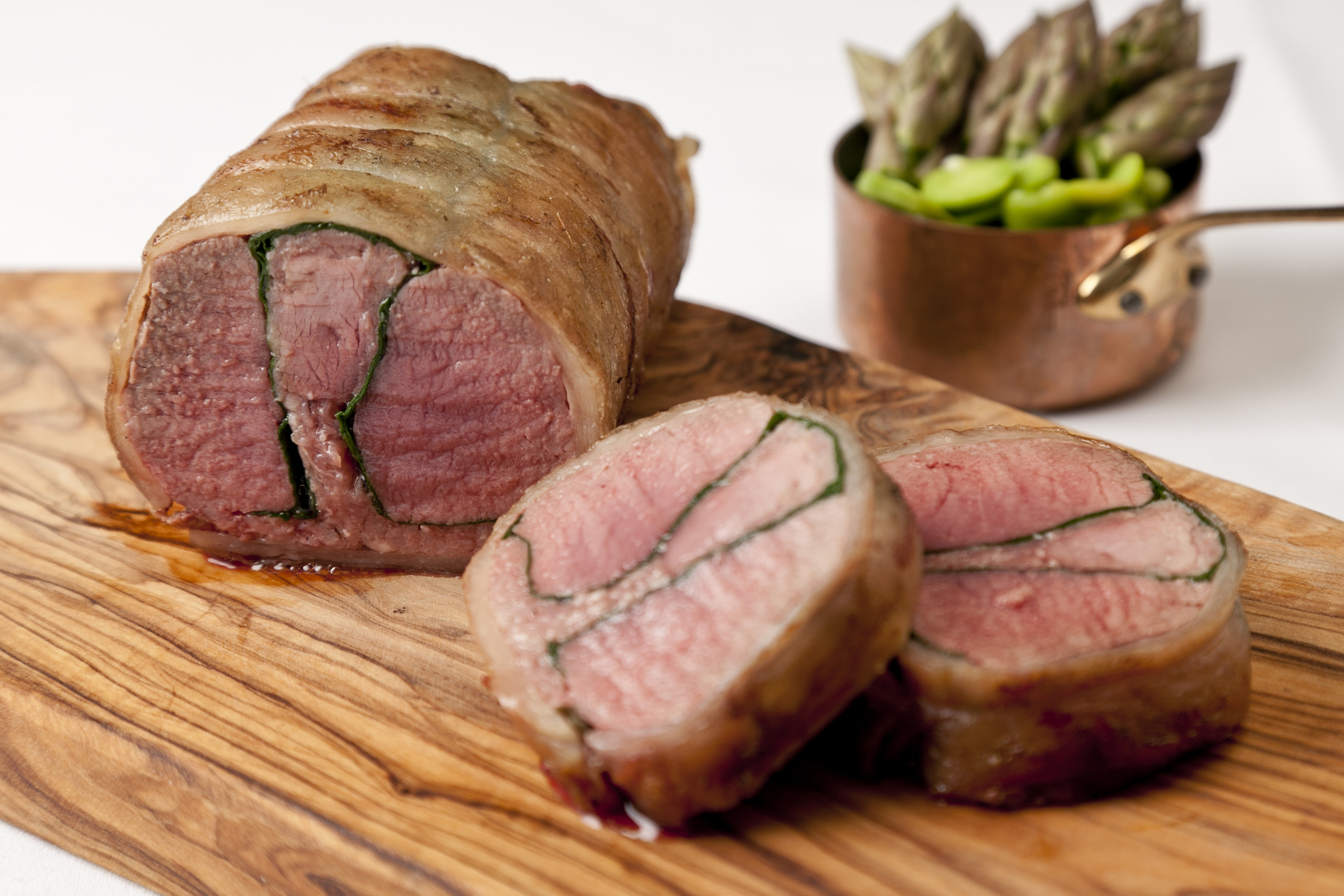 Roast Saddle of Lamb Recipe - Great British Chefs for Lamb Loin Whole  113cpg