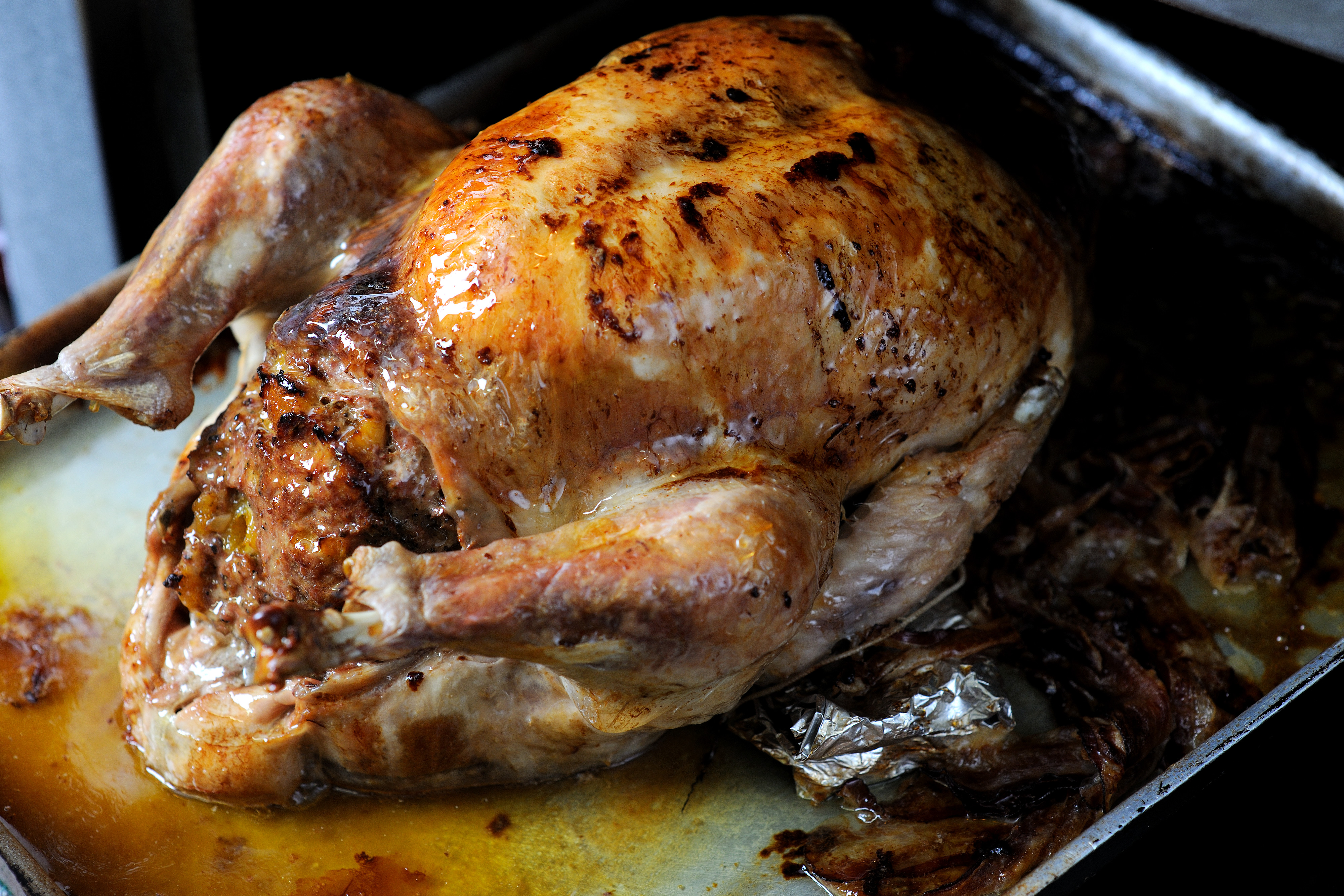 How to keep turkey crown moist when cooking