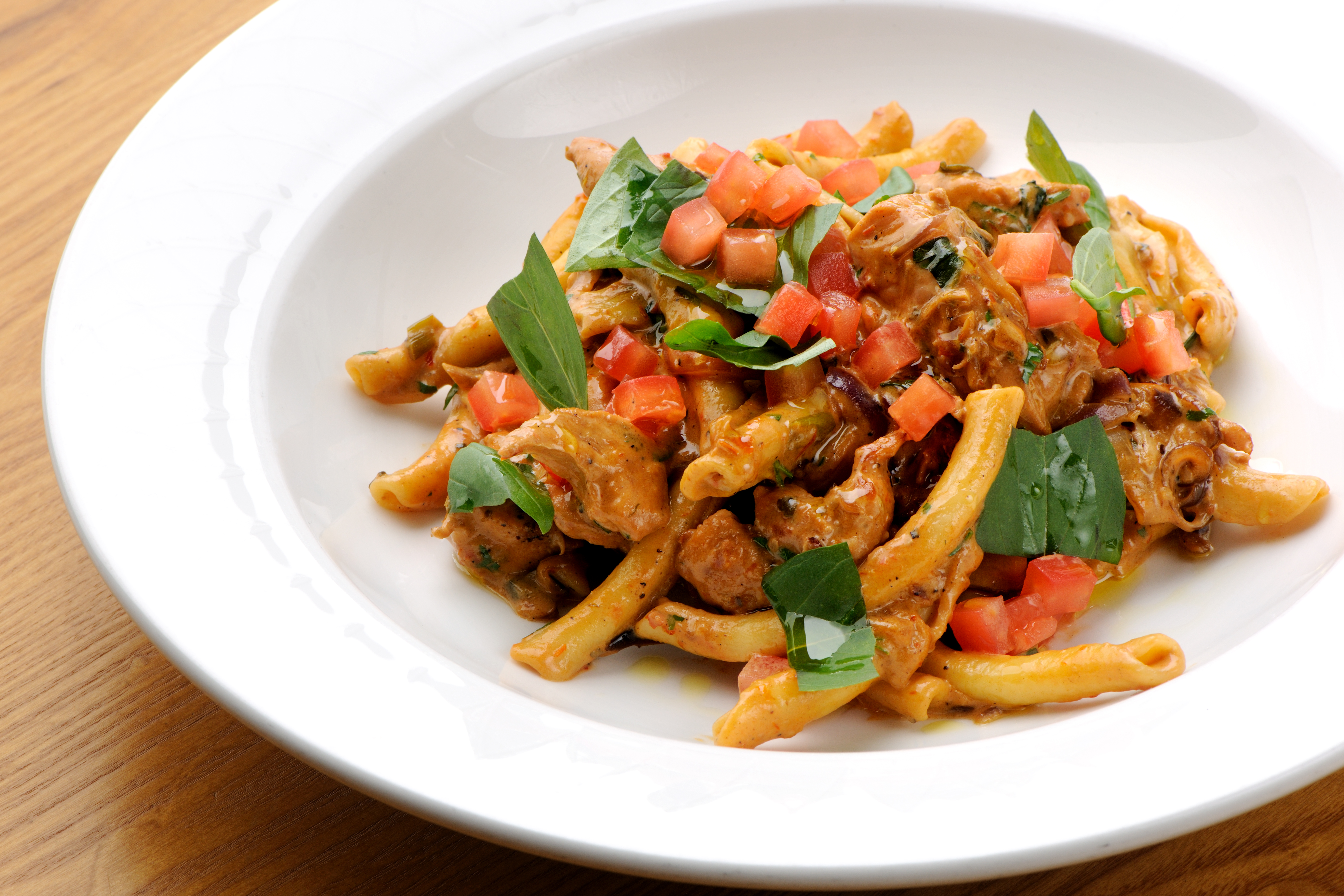 Tortiglioni with chicken recipe great british chefs forumfinder Choice Image