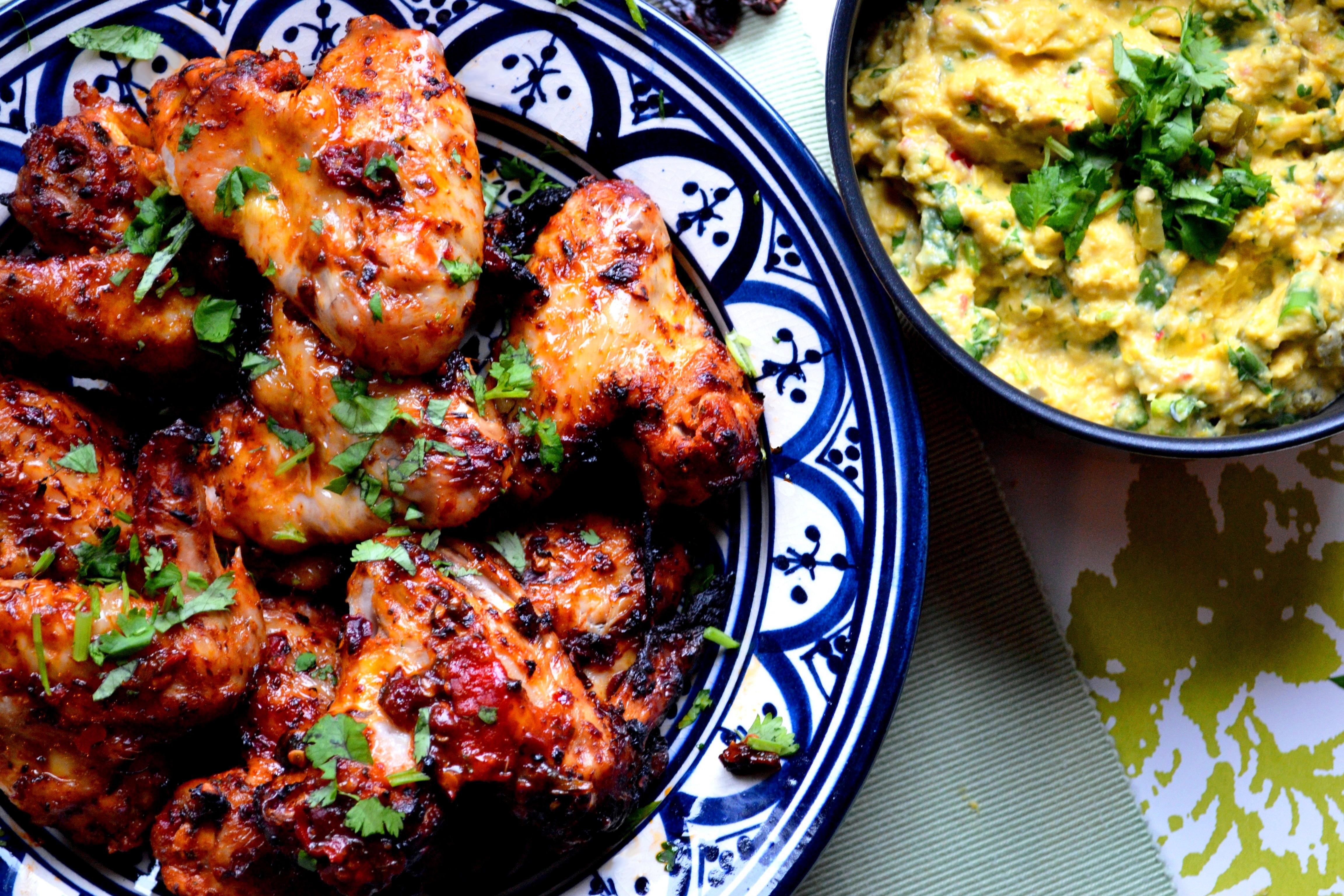 Sticky chicken wings recipe kids recipe great british chefs forumfinder Gallery