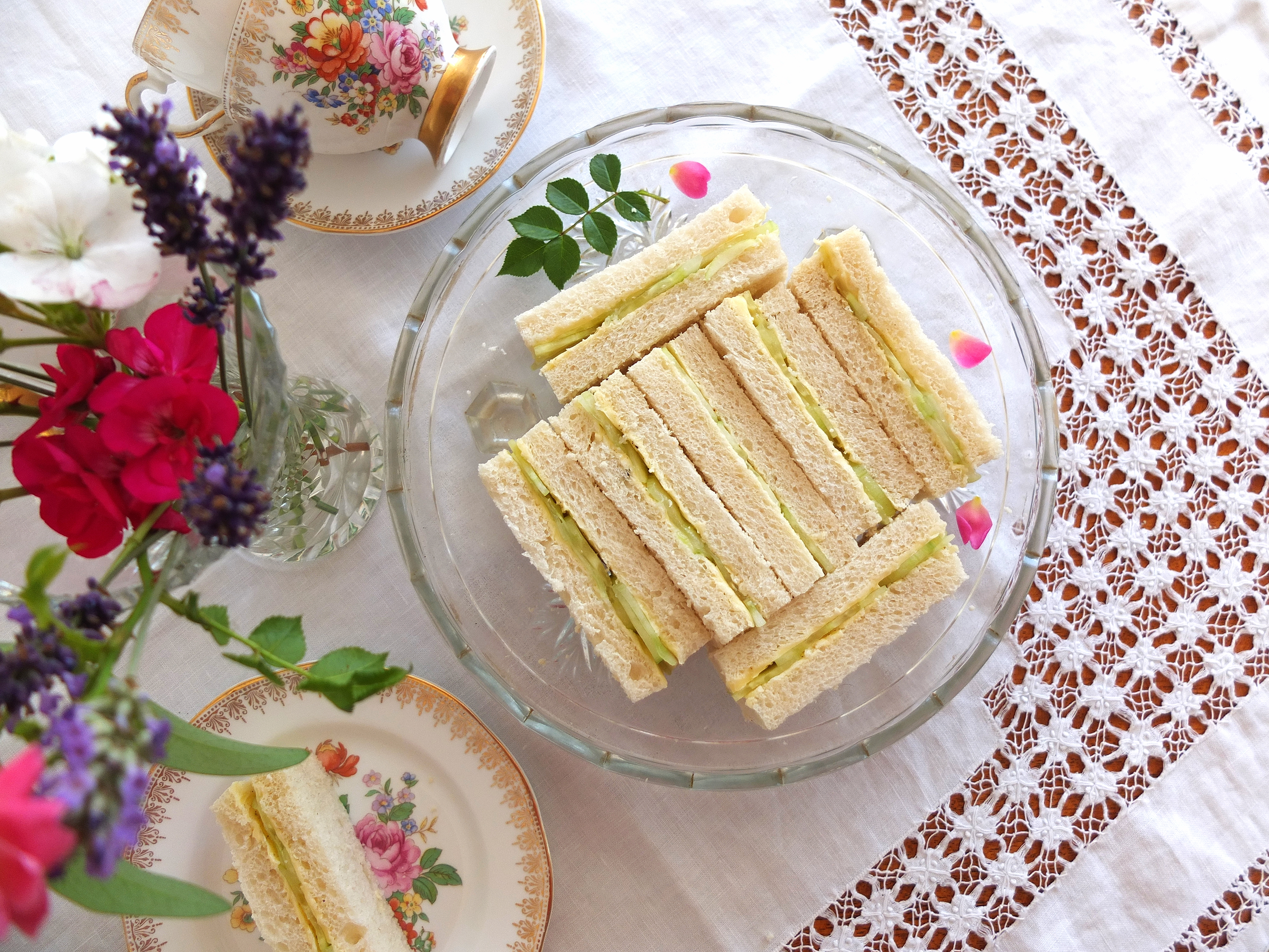 Afternoon tea recipes great british chefs forumfinder Image collections