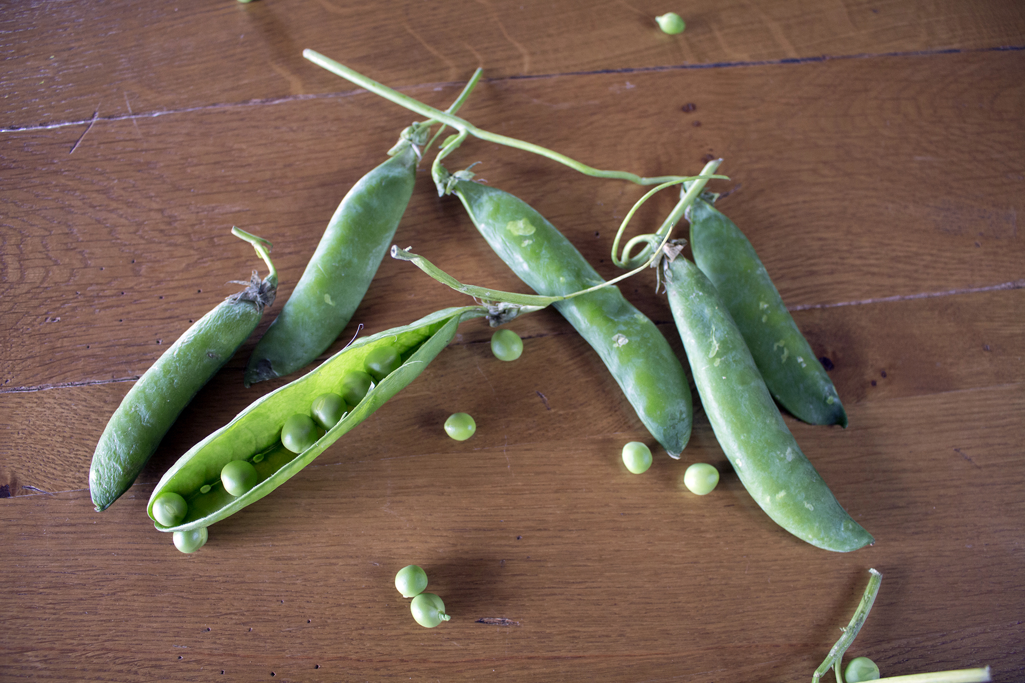 How to Cook Peas - Great British Chefs