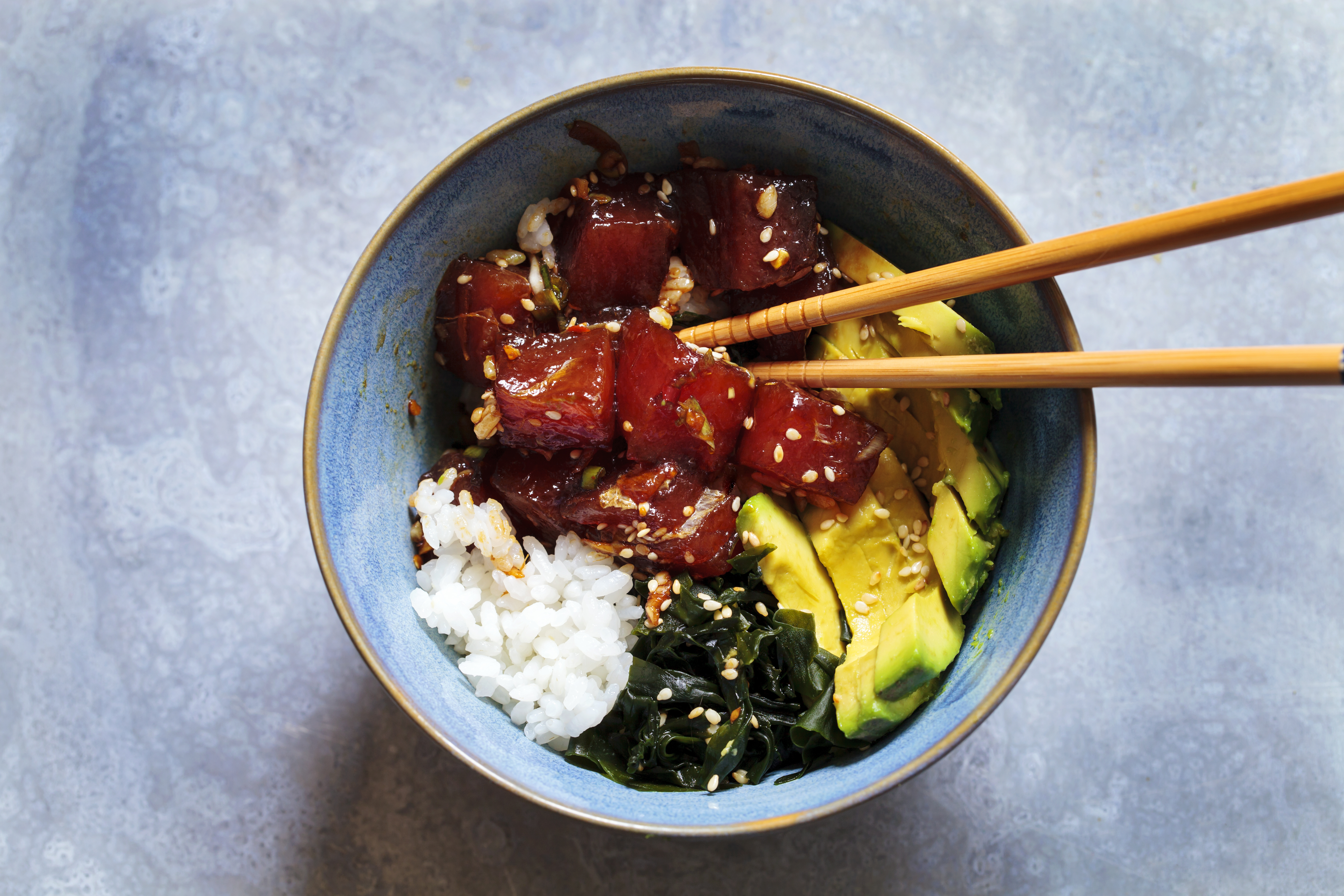 Seared beef poke recipe great british chefs forumfinder Image collections